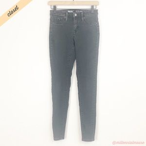 [Mossimo] Black High Rise Jegging Jeans